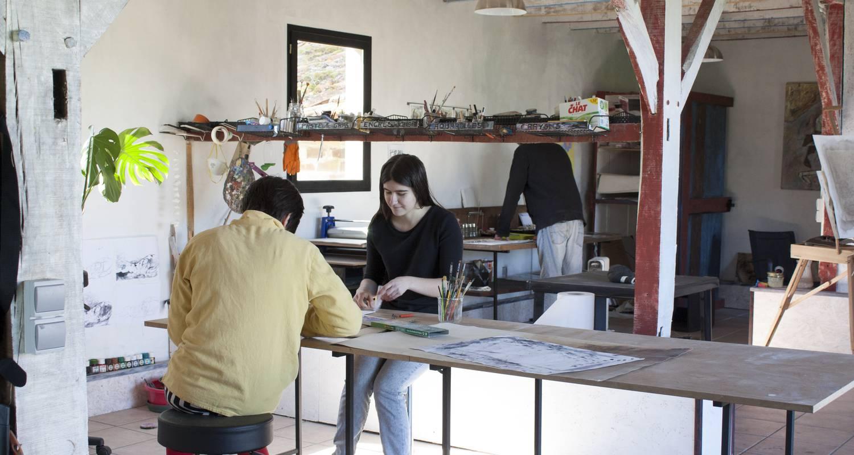 Activité: atelier artistique 2a2c en sanguinet (128612)