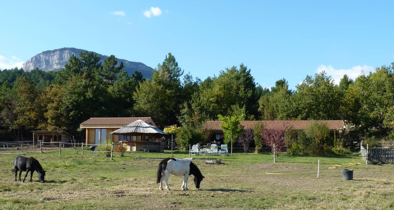 Gîte: au milieu des chevaux et des poneys in ventavon (128738)
