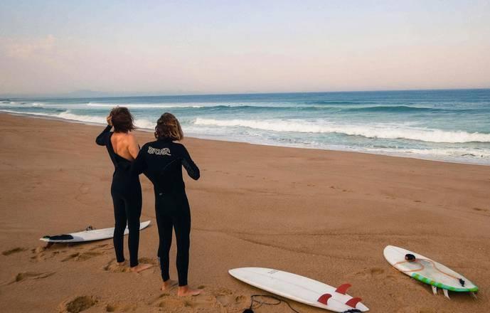 Guide de surf