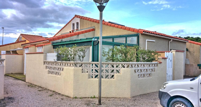 Logement meublé: maison de vacances à 200m de la plage à le barcarès (128847)