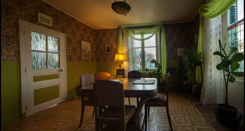 Chambre d'hôtes: chambre d'hôte art deco à saint-saud-lacoussière (128900)
