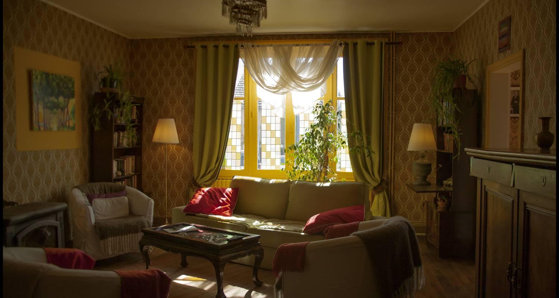 Chambre d'hôtes: chambre d'hôte art deco à saint-saud-lacoussière (128903)