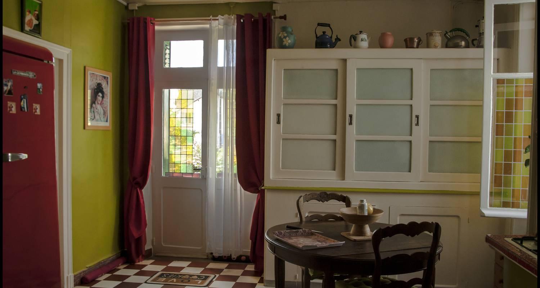 Chambre d'hôtes: chambre d'hôte art deco à saint-saud-lacoussière (128906)