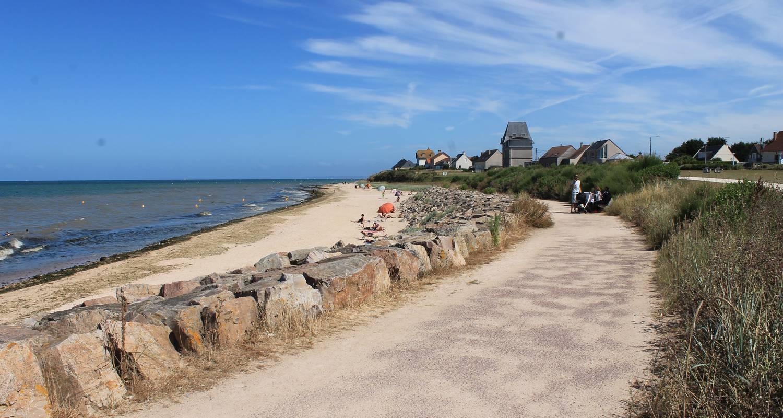 Residencia hotelera: duplex de permanente juno beach acceso directo en bernières-sur-mer (129143)