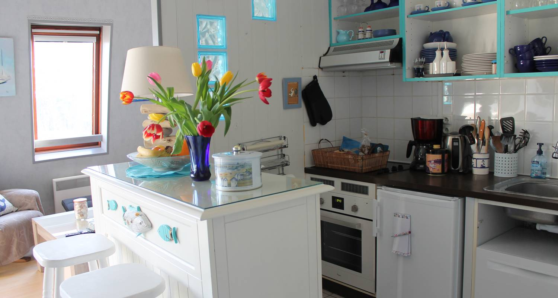 Residencia hotelera: duplex de permanente juno beach acceso directo en bernières-sur-mer (129045)