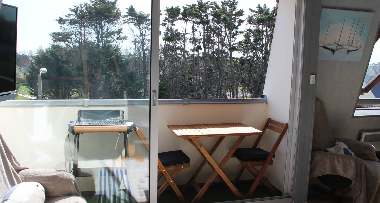 Residencia hotelera: duplex de permanente juno beach acceso directo en bernières-sur-mer (129129)