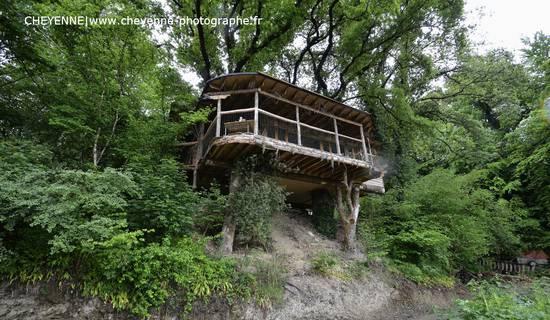 Cabane dans les arbres KERGWAN picture