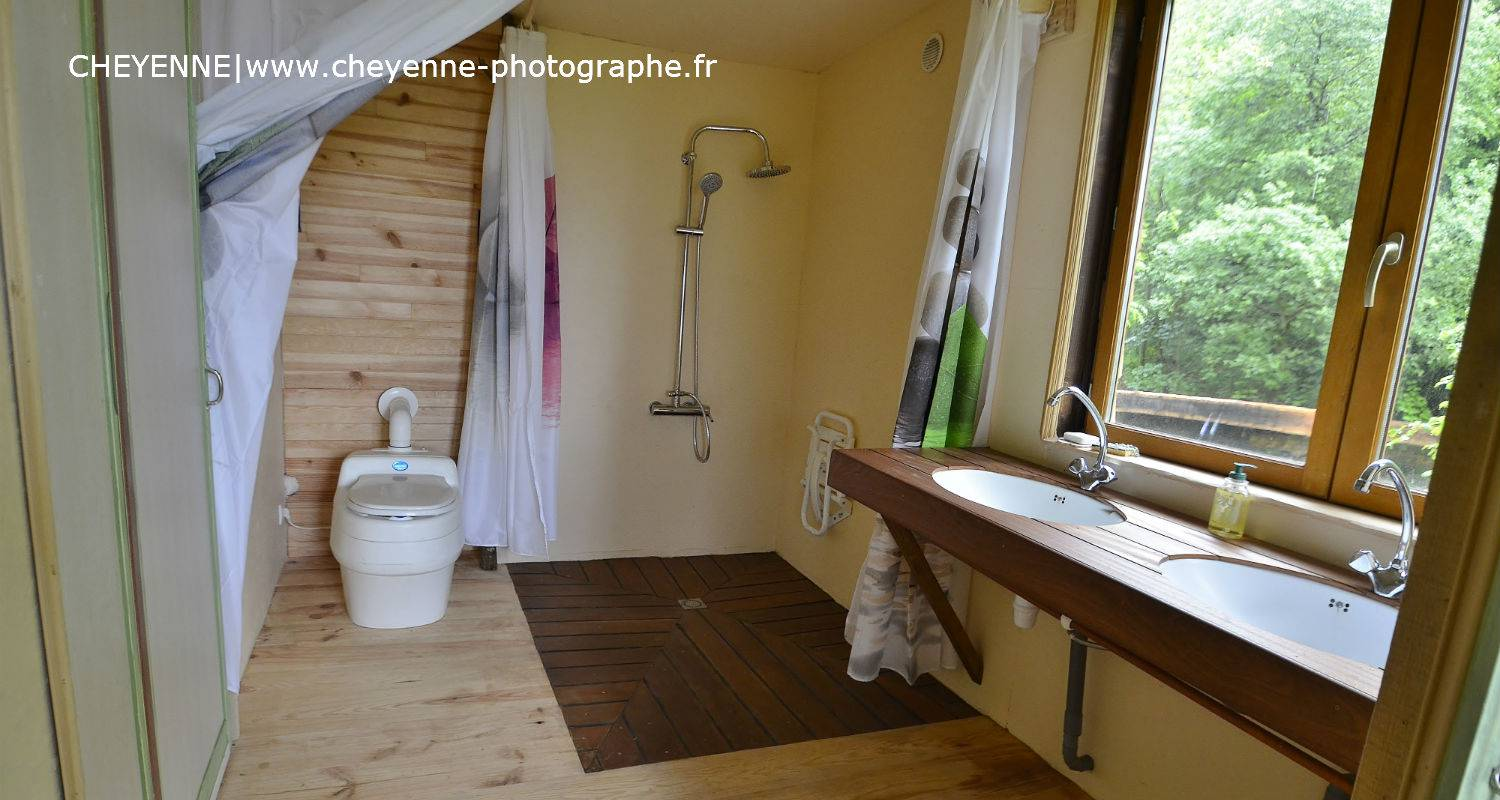 Other kind of rental accommodation: cabane dans les arbres kergwan in saint-goazec (129122)