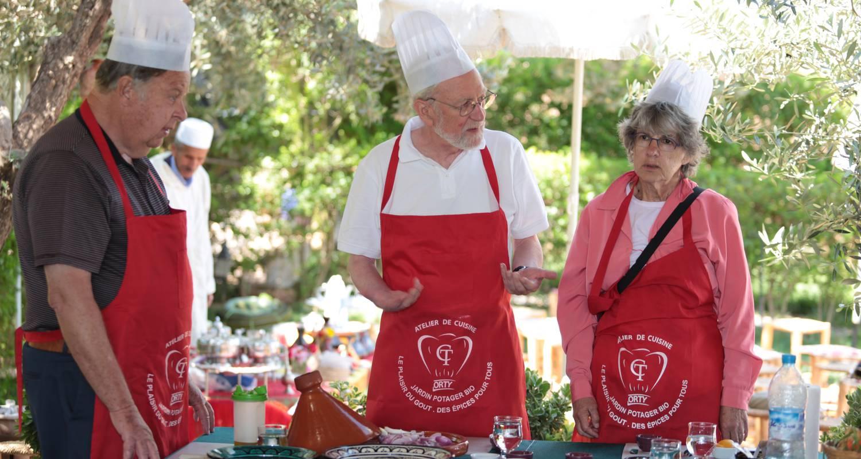 Activité: atelier de cuisine chef tarik à marrakesh (129287)
