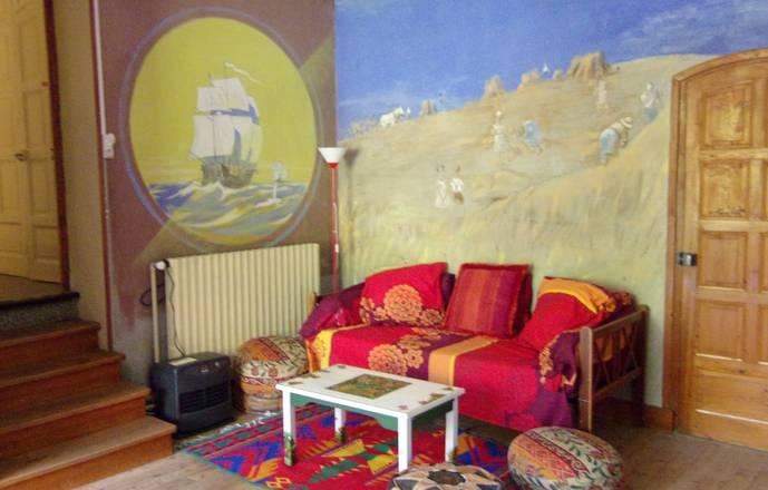 """""""Chez Toine"""" maison & atelier d'Artiste, chambre 1 """"Les Petits Goulets""""le"""