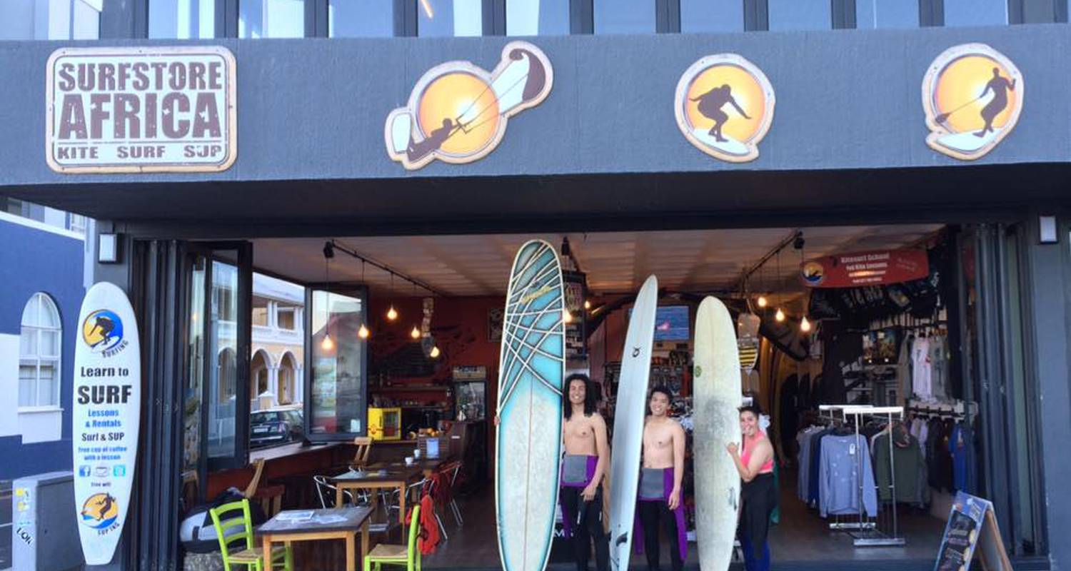 Activity: surf + safari tour stay for beginners in city of cape town (129665)
