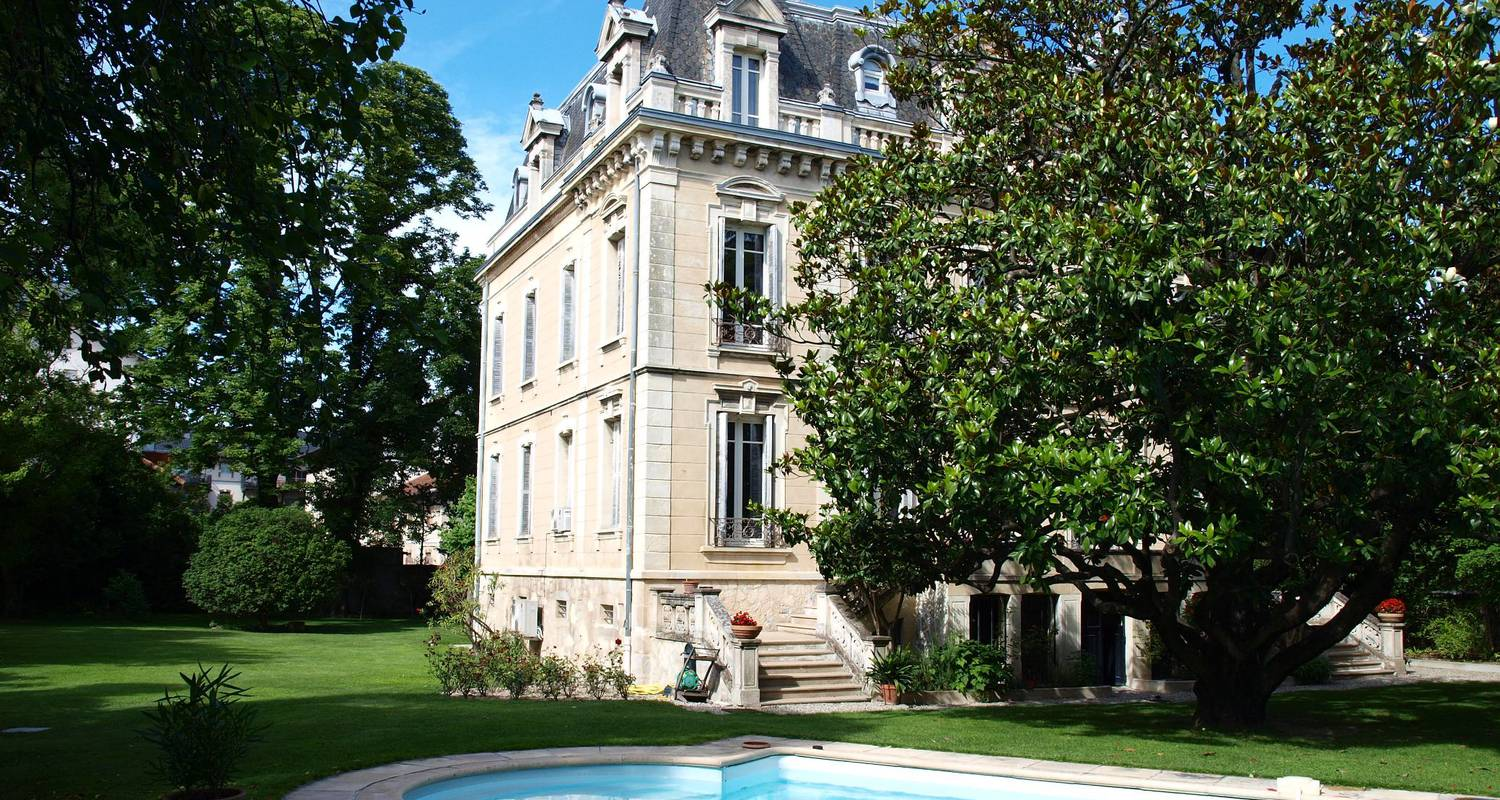 Bed & breakfast: villa magnolia parc in montélimar (129679)