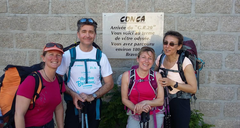 Activity: découverte du gr20 sud en 3 jours: montagnes et merveilles de l'alta rocca du plateau du cuscionu à bavella ou conca in quenza (129826)