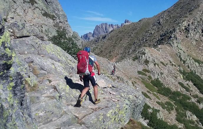 GR20 en mode trail 7+2 jours