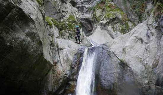 Canyoning, rafting, hydrospeed et via ferrata