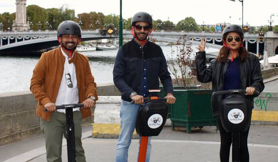 Une promenade à Paris en Segway photo