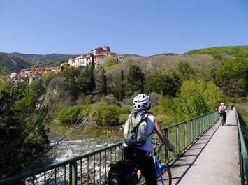 Vélo électrique, Circuit découverte de l'arrière-pays catalan