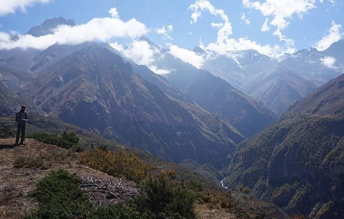 Stage de survieHaut plateau du Mustang au Népal