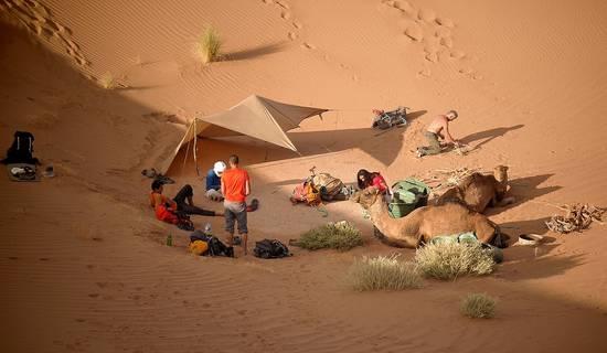 """Trek découverte initiation à la survie au Maroc """"Oasis&dunes"""" picture"""