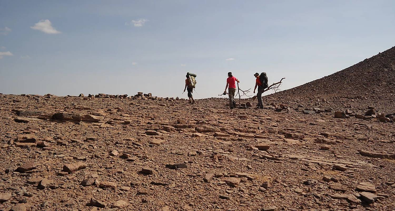 """Activité: trek découverte initiation à la survie au maroc """"oasis&dunes"""" en oum el gourdane (130037)"""