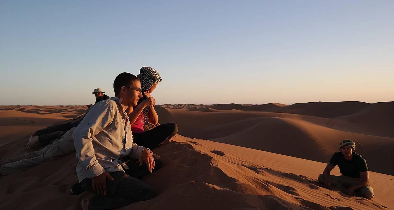 """Activité: trek découverte initiation à la survie au maroc """"oasis&dunes"""" en oum el gourdane (130038)"""