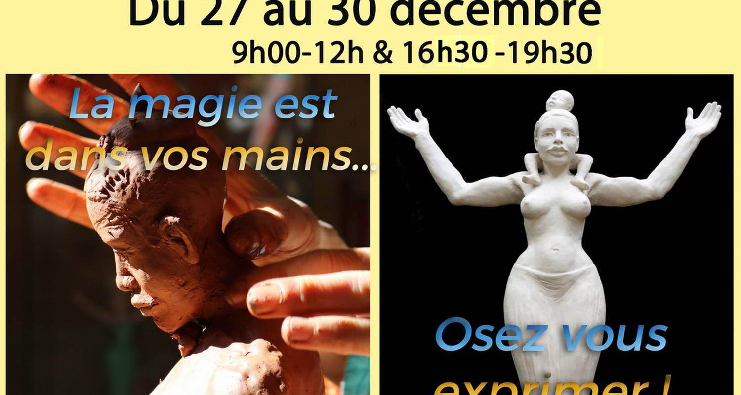 Activity: modelling clay session in sarlat-la-canéda (130079)