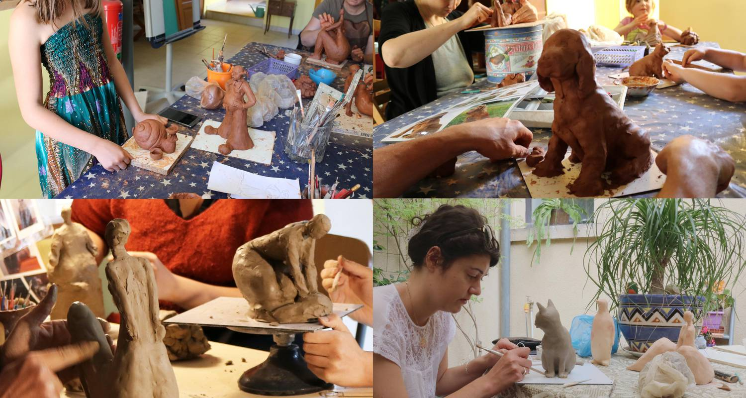Activity: modelling clay session in sarlat-la-canéda (130157)