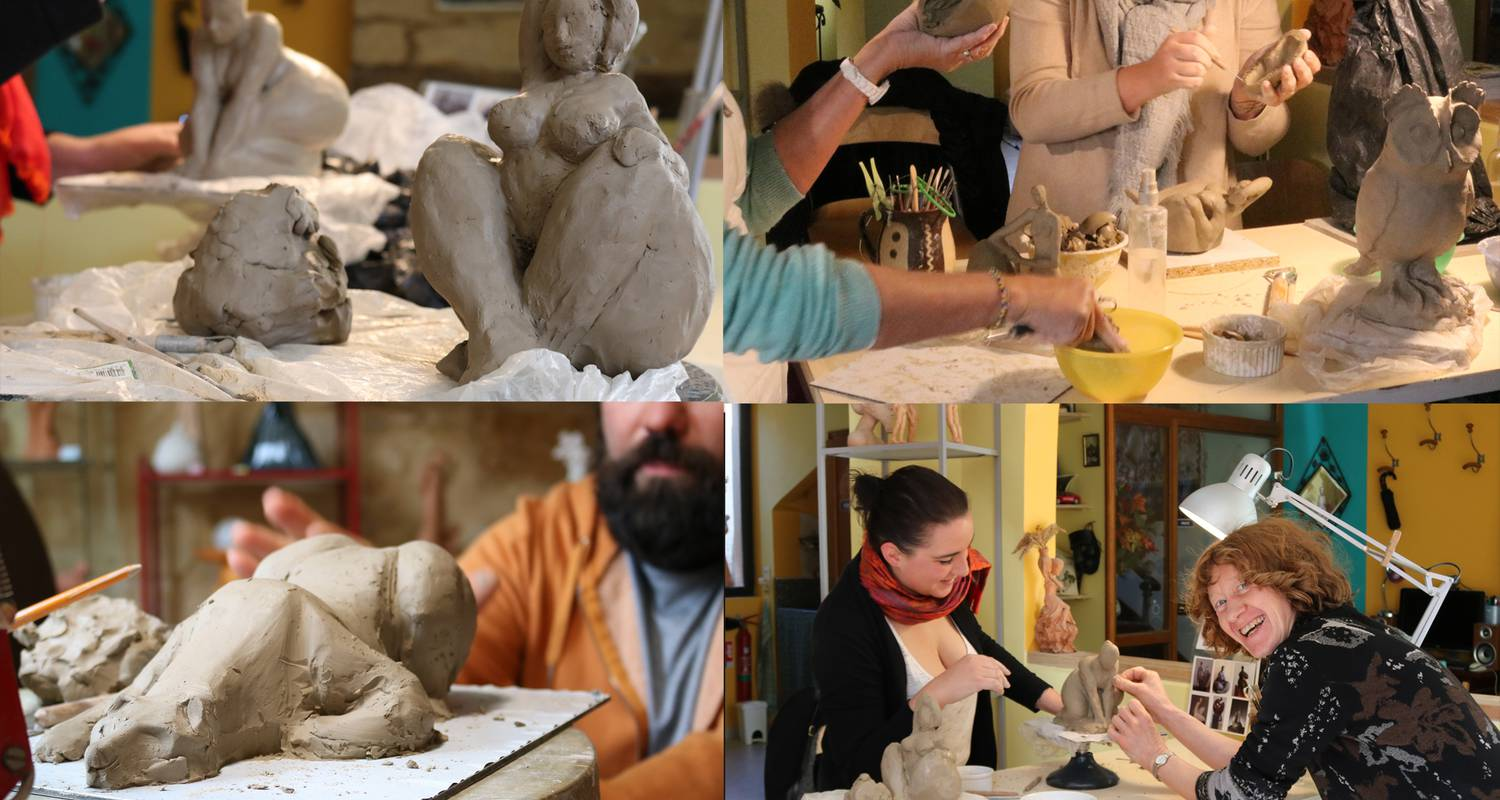 Activity: modelling clay session in sarlat-la-canéda (130074)