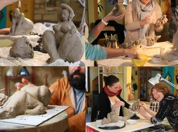 Modelling clay session