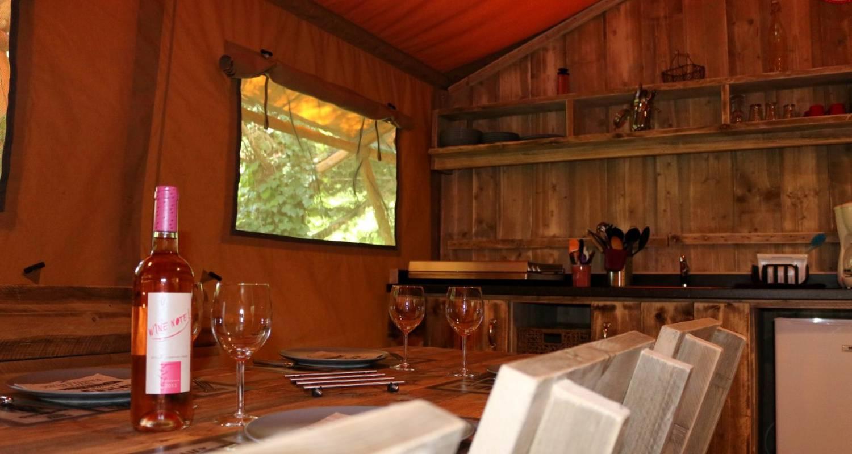 Rental, bungalow, mobile home: safarilodge in saint-constant (130094)