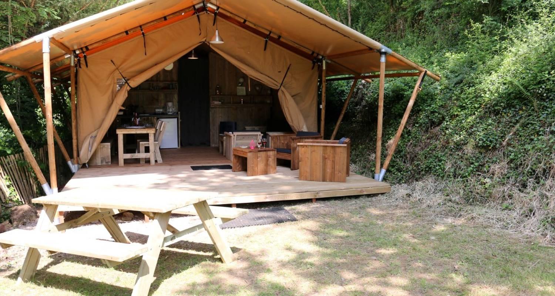 Rental, bungalow, mobile home: safarilodge in saint-constant (130093)