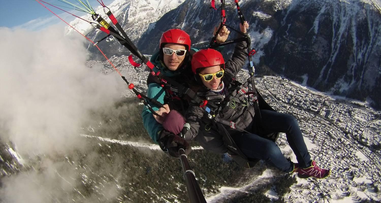 Activité: vol en parapente  à chamonix-mont-blanc (130099)