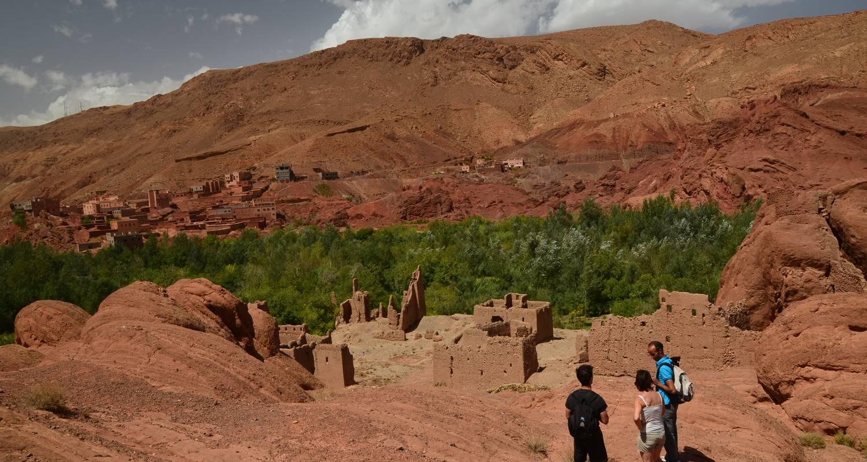 Activity: randonnée dans la vallée du dades depart de chez ali pour decouvrire les sites  et les kasbah .. in boumalne (130395)