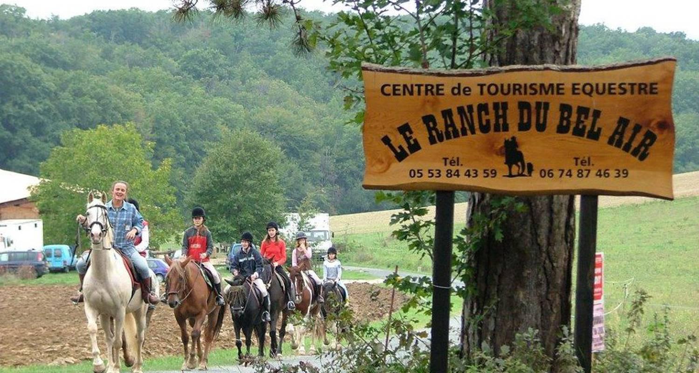 Activité: le ranch du bel air à labretonie (130639)