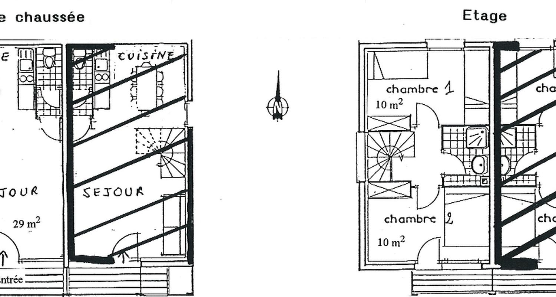 Gîte: les chalets de pré clos 5 à saint-andéol (130693)