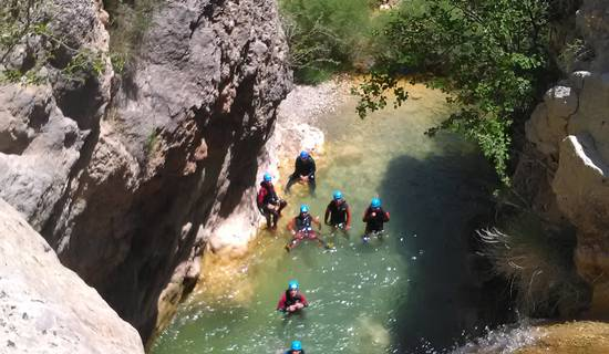Canyoning sensations  picture