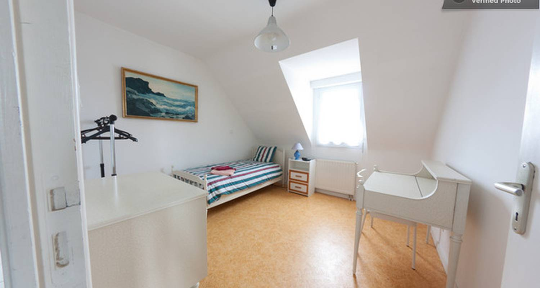 Chambre chez l'habitant: chambres a vannes à vannes (131203)