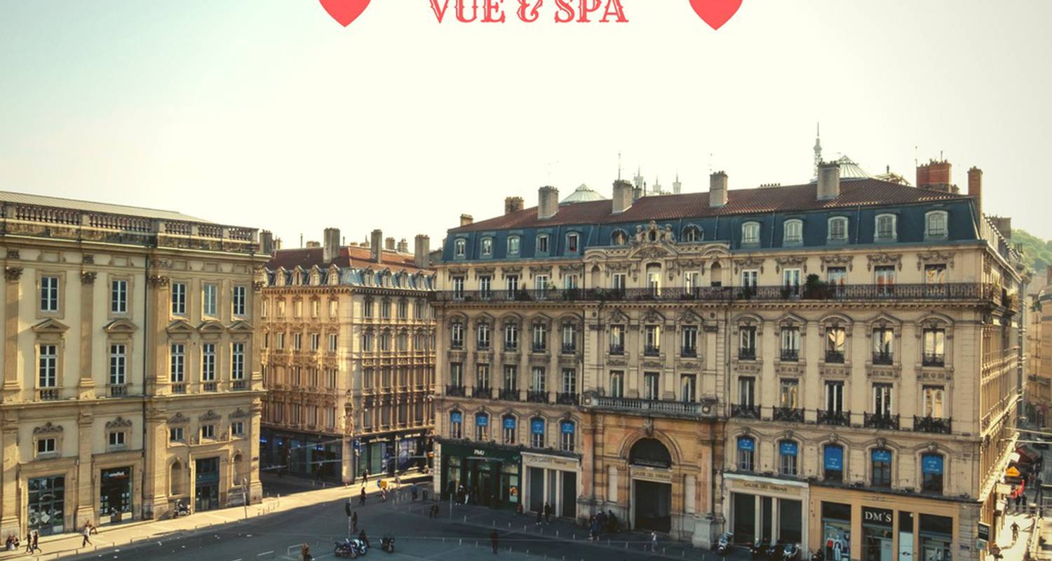 Furnished accommodation: vue & spa prestige au cœur de la place  in lyon (131309)
