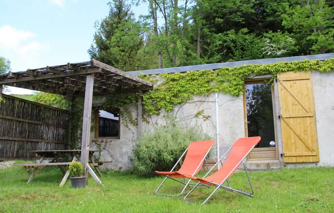 Gîte de Pleine Nature (2/3pers) et Atelier de Méditation.