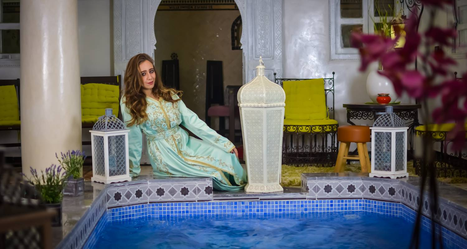 Riad: eloise riad in marrakech-tensift-al haouz (131556)