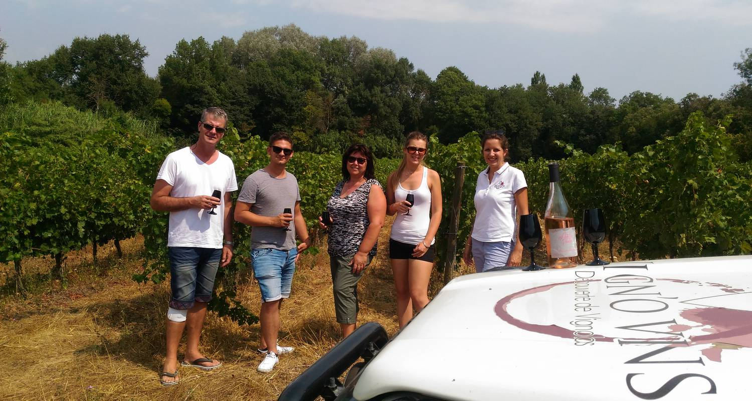 Activity:  vigno'vins, discovery of the vineyard of saint christol in 4x4 in saint-christol (131754)