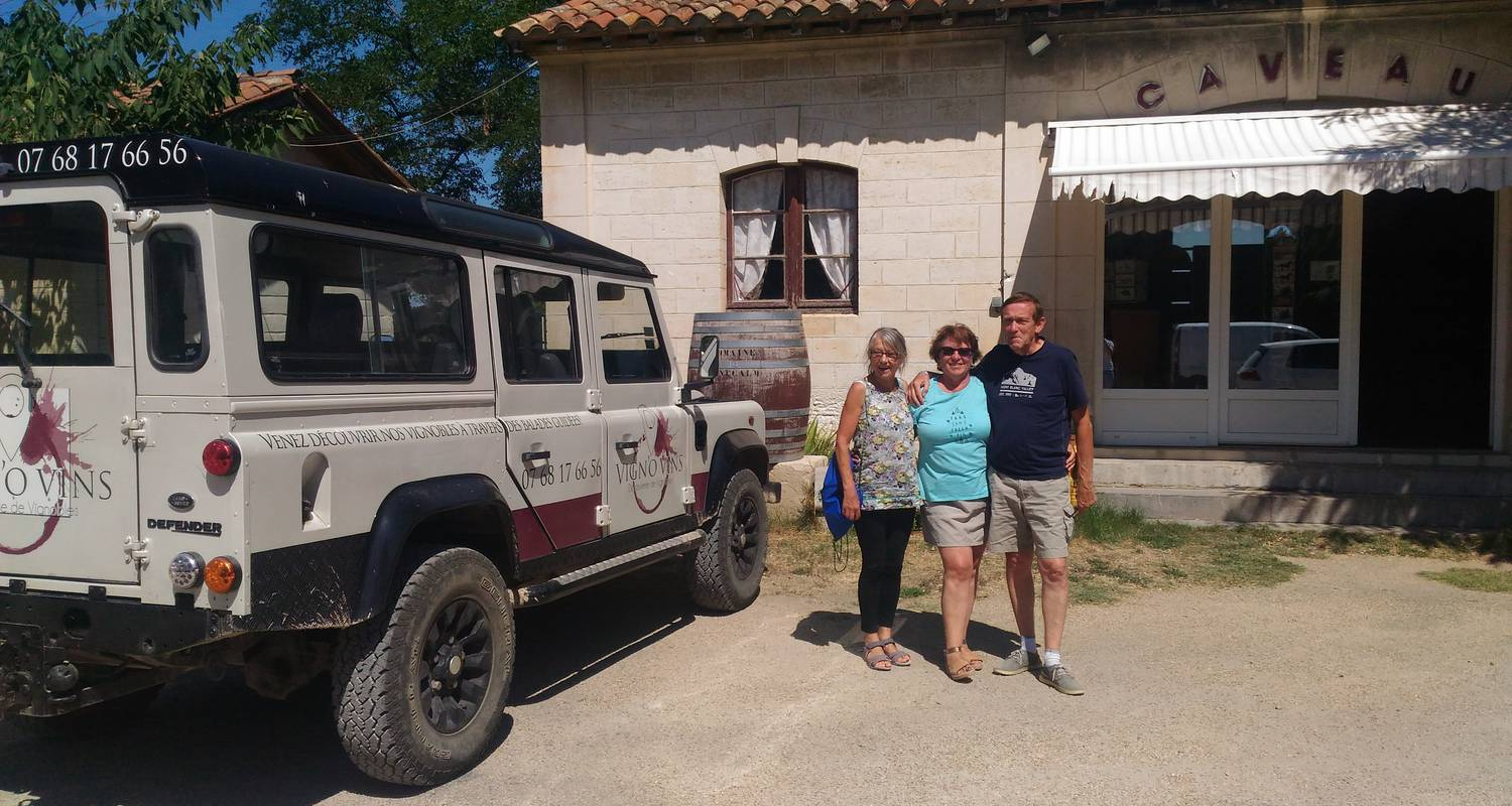Activity:  vigno'vins, discovery of the organic vineyard in 4x4 in saint-laurent-d'aigouze (131767)