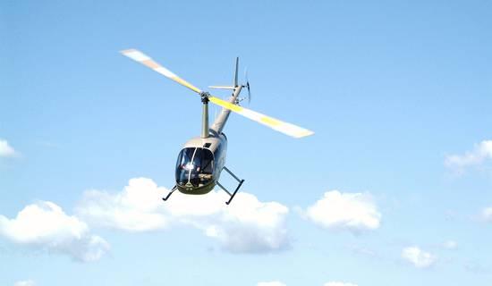 Baptêmes de l'air en hélicoptère