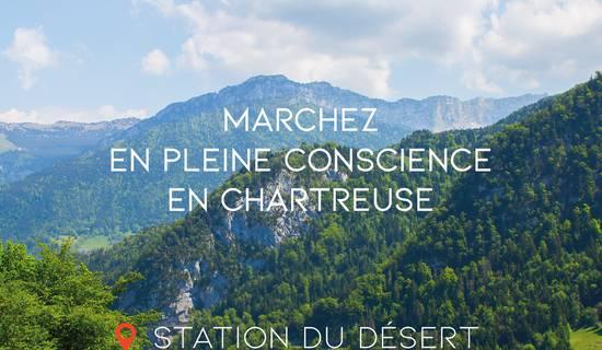 Marche consciente en Chartreuse by Florence Ratat