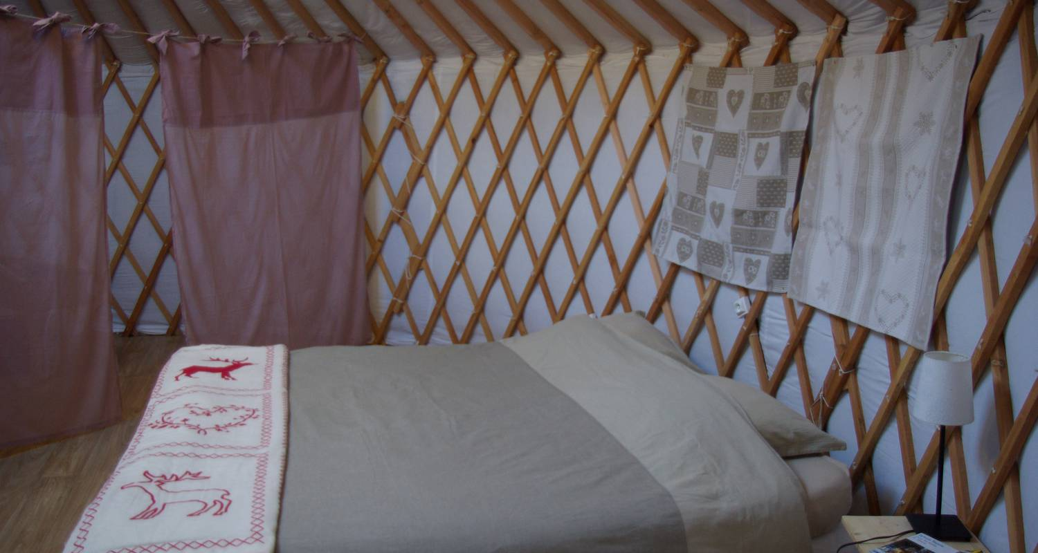 Other kind of rental accommodation: mountain yurt in colmars (132136)