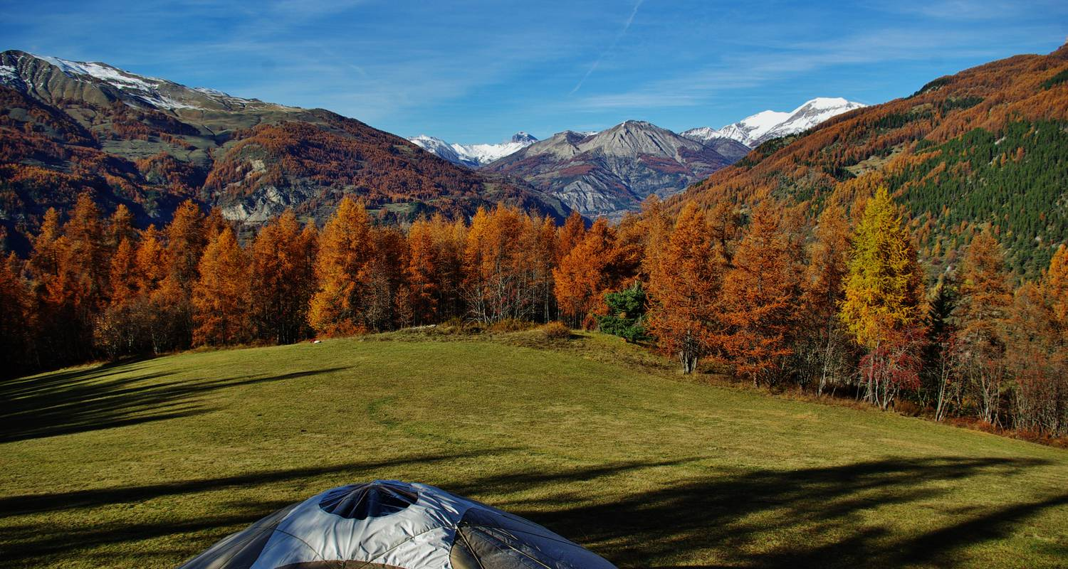 Other kind of rental accommodation: mountain yurt in colmars (132134)