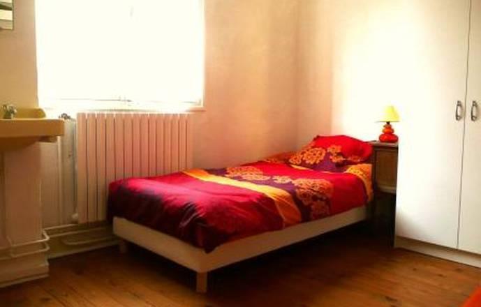"""""""Chez Toine"""" House & Artist's studio, room 2 """"Combe Laval"""""""