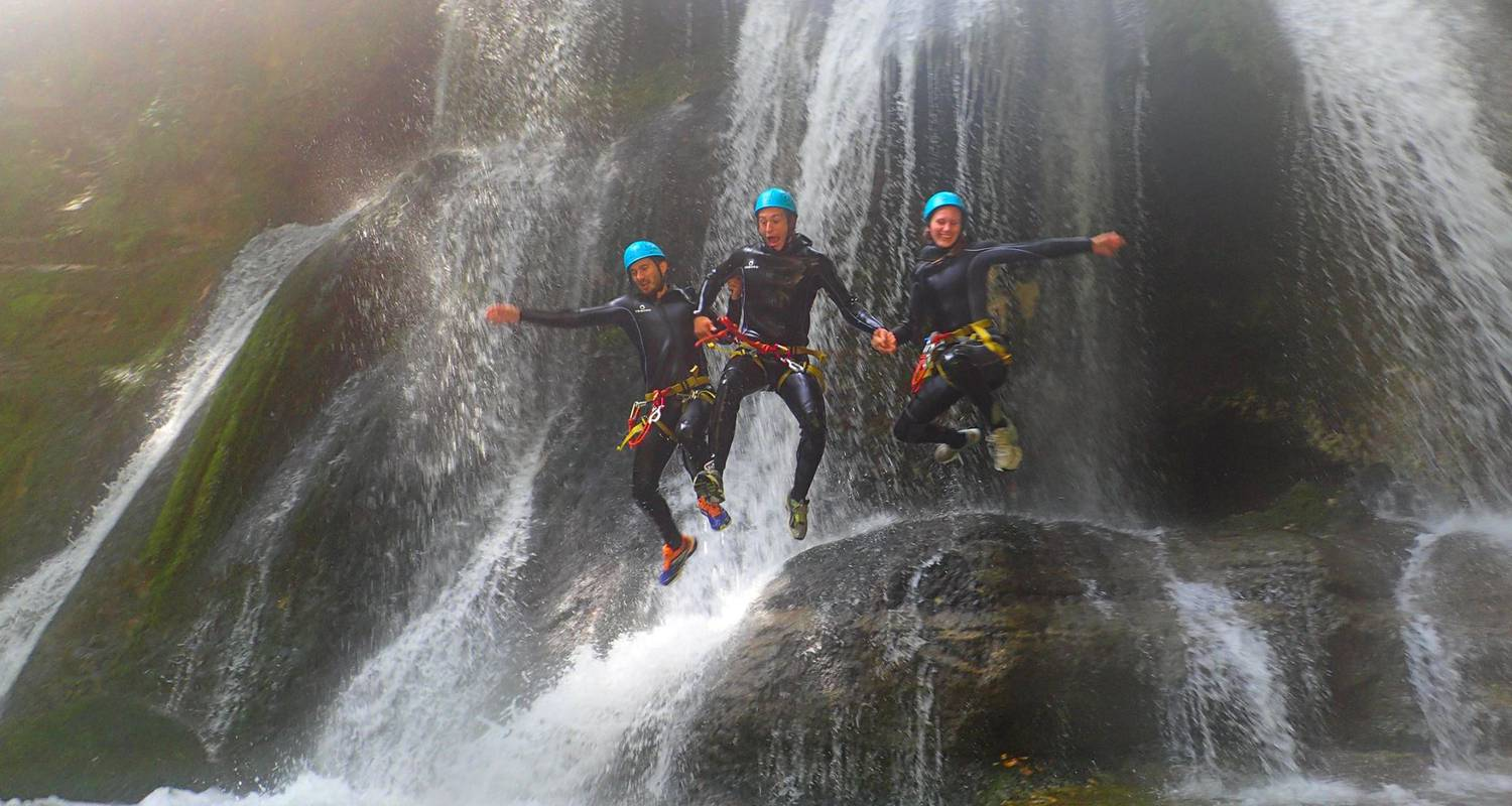 Activity: discovery canyoning of the furon in sassenage (132341)