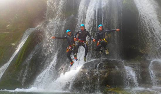 Discovery Canyoning of the Furon picture