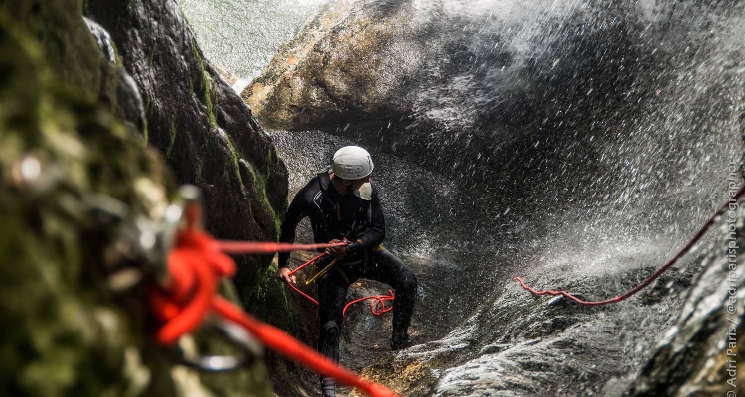Activity: discovery canyoning of the furon in sassenage (132343)